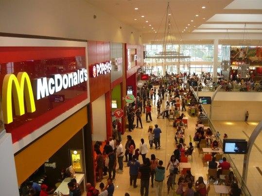 Los centros comerciales, funcionan bajo la figura del condominio. Fotografía: Roy Allan Jiménez Céspedes.
