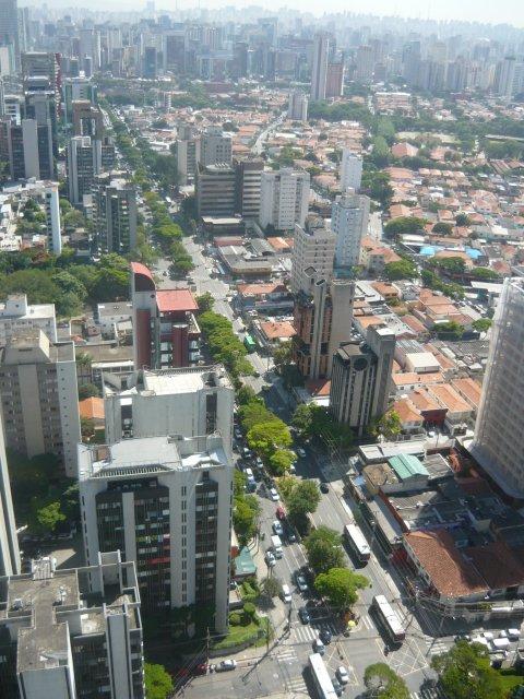 Sao Paulo. La figura del condominio ha facilitado procesos de densificación en las ciudades. Fotografía Roy Allan Jiménez Céspedes