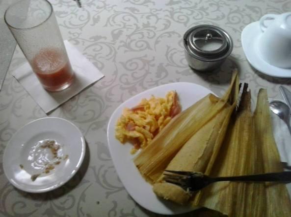 "El desayunoes el momento ideal para degustar de la famosa ""Umita""en Quito. Fotografia Roy Jiménez 2013."